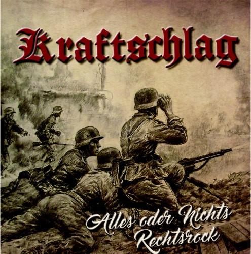 Kraftschlag - Alles oder nichts / Rechtsrock LP schwarz