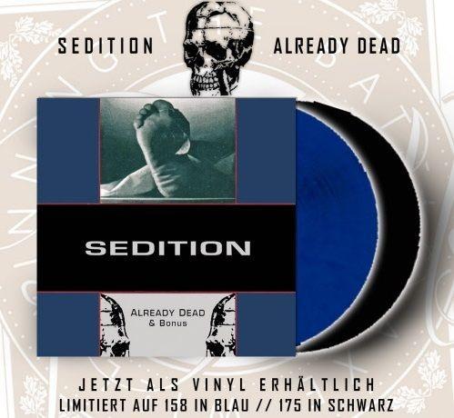 SEDITION – ALREADY DEAD + BONUS - LP