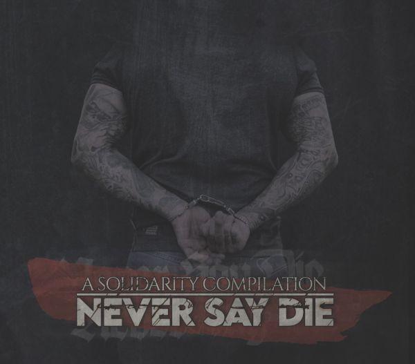 Solidaritäts Sampler - Never say die Doppel CD im Digipak