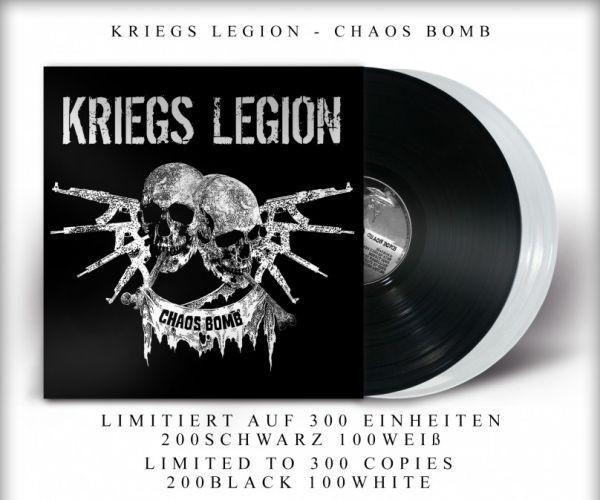 KRIEGS LEGION - CHAOS BOMB - LP schwarz