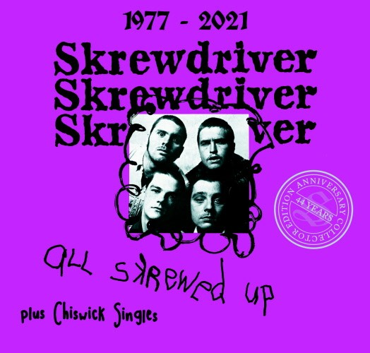 Skrewdriver - All skrewed up + Chiswick Singles 44 years edition Digipak CD