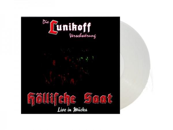 Die Lunikoff Verschwörung Höllische Saat Live in Mücka - LP weiß