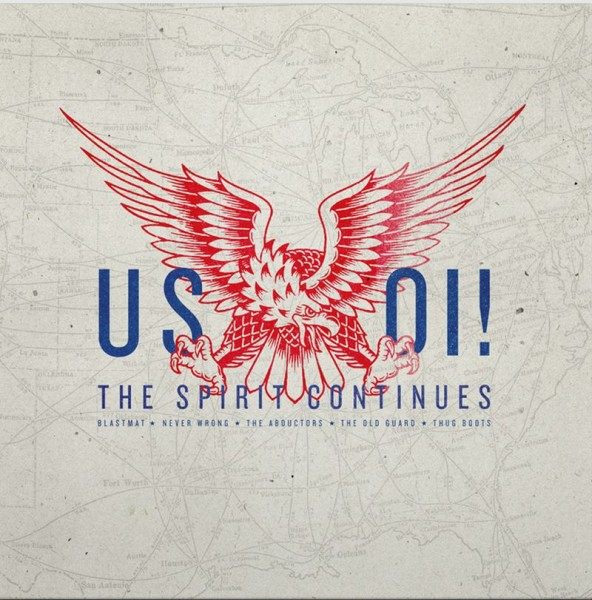 US Oi! The Spirit Continues CD