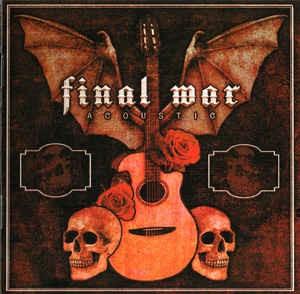 Final War - Acoustic LP schwarz